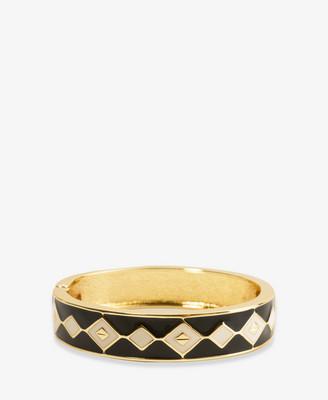 Lacquered Diamond Pattern Bracelet